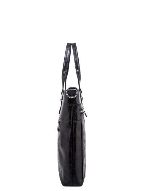 Чёрная сумка классическая S.Lavia (Славия) - артикул: 355 048 01 - ракурс 2