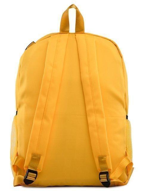 Жёлтый рюкзак Angelo Bianco (Анджело Бьянко) - артикул: 0К-00028782 - ракурс 3
