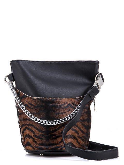 Коричневая сумка мешок Angelo Bianco - 996.00 руб
