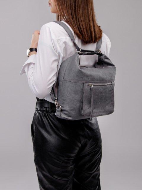Синяя сумка мешок S.Lavia (Славия) - артикул: 657 601 70 - ракурс 8