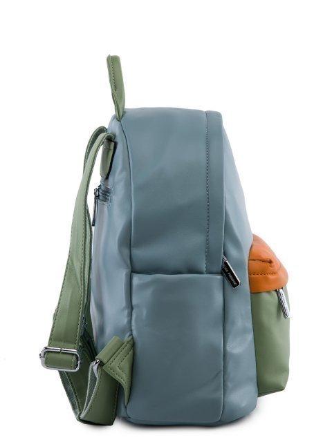 Голубой рюкзак Fabbiano (Фаббиано) - артикул: 0К-00023734 - ракурс 2