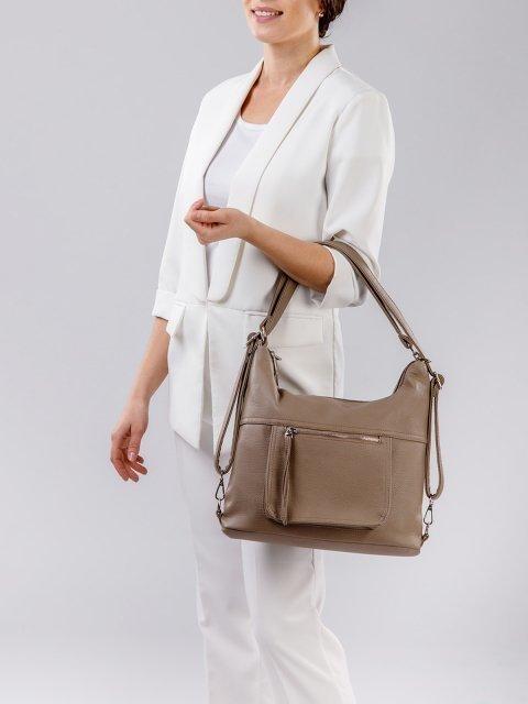Коричневая сумка мешок S.Lavia (Славия) - артикул: 657 601 12 - ракурс 6