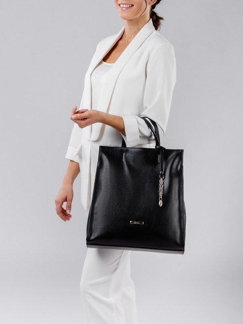 Чёрная сумка классическая S.Lavia (Славия) - артикул: 1077 902 01 - ракурс 2