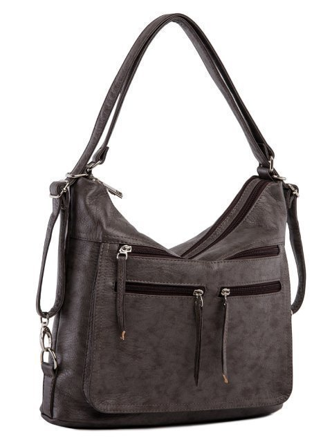 Коричневая сумка мешок S.Lavia (Славия) - артикул: 962 601 12 - ракурс 1