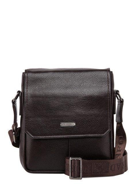 Коричневая сумка планшет Bradford - 2695.00 руб