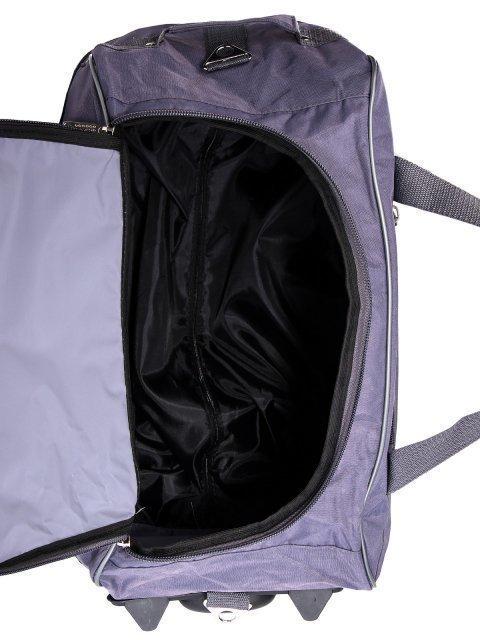 Серый чемодан Lbags (Эльбэгс) - артикул: К0000015921 - ракурс 5