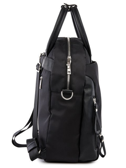 Чёрный рюкзак S.Lavia (Славия) - артикул: 00-111 40 01 - ракурс 2
