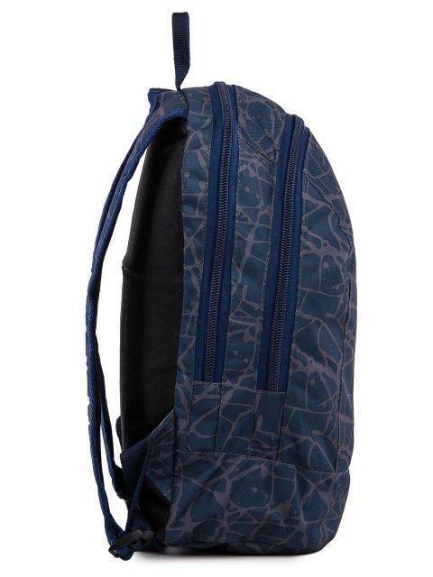Синий рюкзак Lbags (Эльбэгс) - артикул: 0К-00028665 - ракурс 2