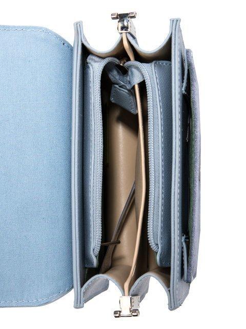 Голубая сумка планшет David Jones (Дэвид Джонс) - артикул: 0К-00026270 - ракурс 4