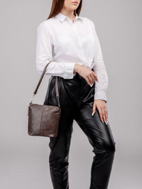 Коричневая сумка планшет S.Lavia (Славия) - артикул: 367 601 12 - ракурс 5