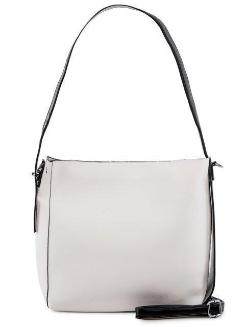 Белая сумка мешок Polina (Полина) - артикул: 0К-00026720 - ракурс 3