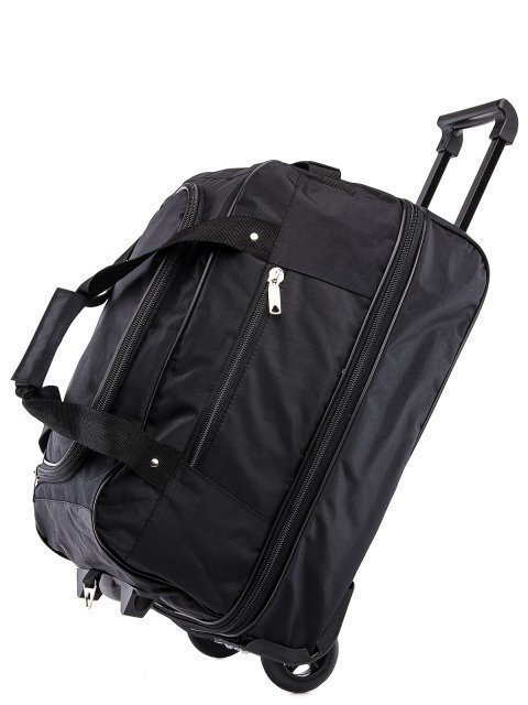 Чёрный чемодан Lbags (Эльбэгс) - артикул: К0000015902 - ракурс 4