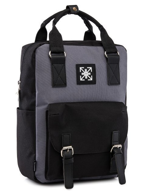 Чёрный рюкзак S.Lavia (Славия) - артикул: 00-72 000 01 - ракурс 1