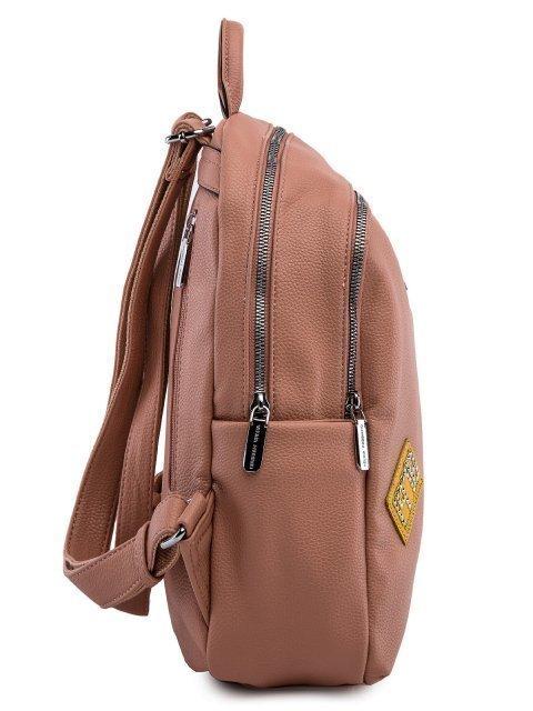 Розовый рюкзак Fabbiano (Фаббиано) - артикул: 0К-00023514 - ракурс 2