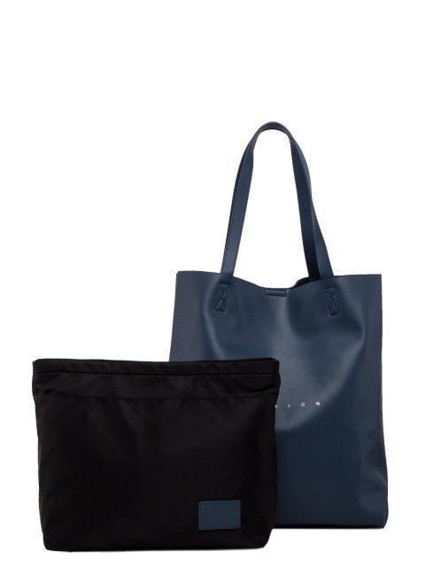 Синий шоппер Polina - 6398.00 руб
