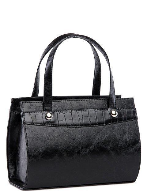 Чёрная сумка классическая S.Lavia (Славия) - артикул: 711 048 01 - ракурс 2