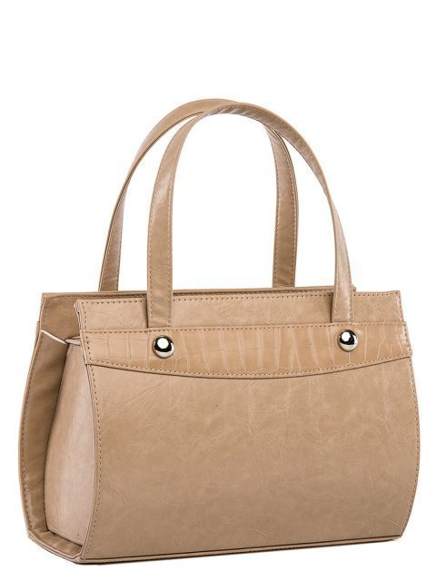 Бежевая сумка классическая S.Lavia (Славия) - артикул: 711 048 25 - ракурс 2