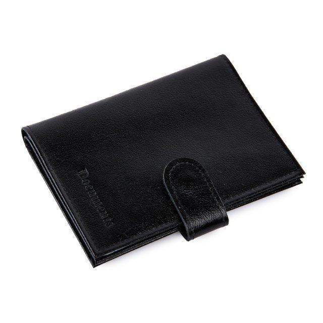 Чёрная обложка для документов Кайман - 629.00 руб