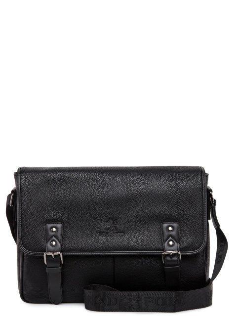 Чёрная сумка планшет Bradford - 3499.00 руб
