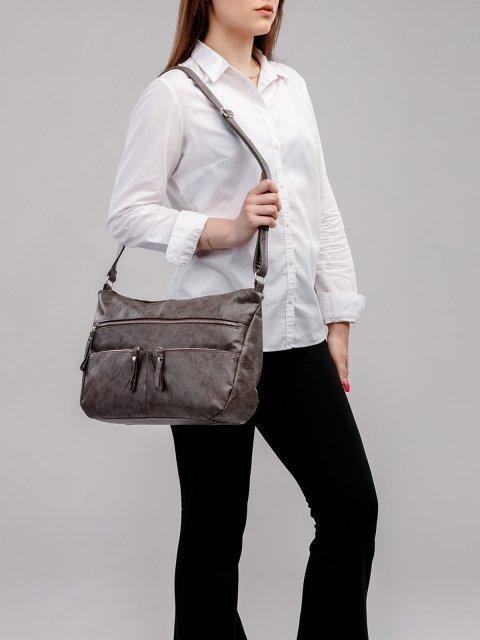 Коричневая сумка планшет S.Lavia (Славия) - артикул: 951 601 12 - ракурс 5