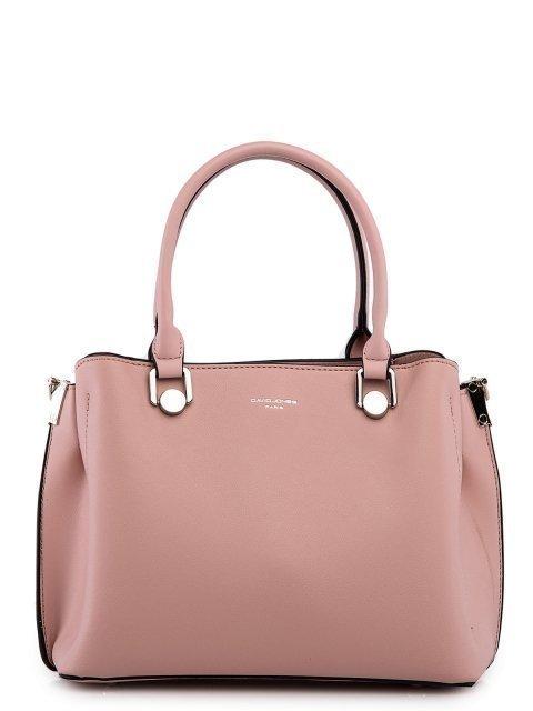 Розовая сумка классическая David Jones - 2799.00 руб