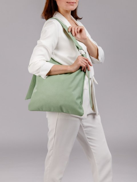 Мятная сумка мешок S.Lavia (Славия) - артикул: 1084 903 13 - ракурс 5