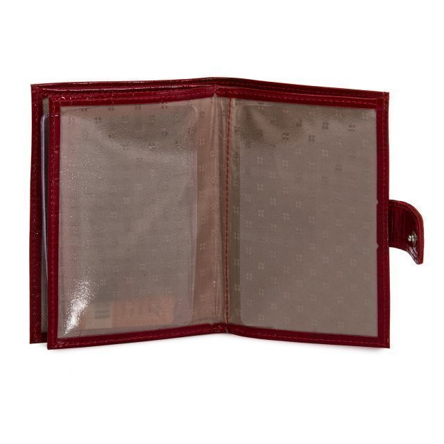 Красная обложка для документов S.Lavia (Славия) - артикул: К0000016348 - ракурс 4