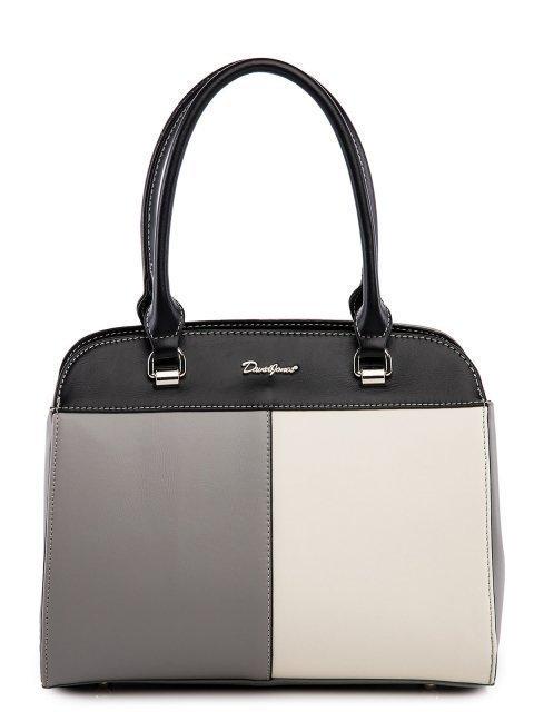 Серая сумка классическая David Jones - 2999.00 руб