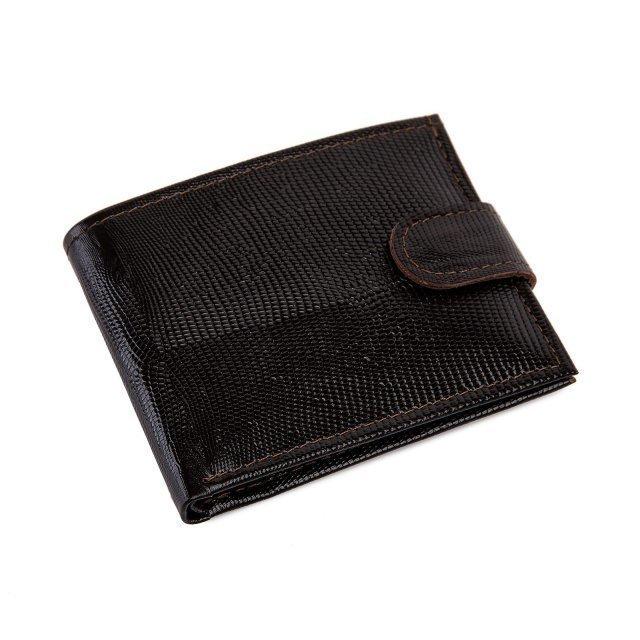 Коричневое портмоне Кайман - 999.00 руб