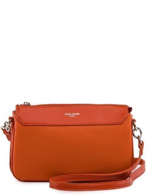 Оранжевая сумка планшет David Jones - 2299.00 руб