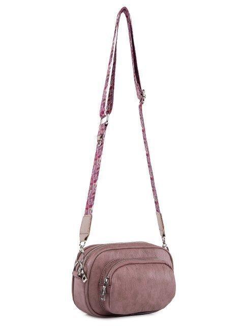 Сиреневая сумка планшет S.Lavia (Славия) - артикул: 1209 601 60.46К Сумка женская - ракурс 2