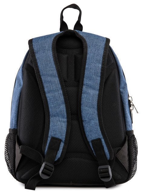 Синий рюкзак Lbags (Эльбэгс) - артикул: 0К-00029122 - ракурс 3