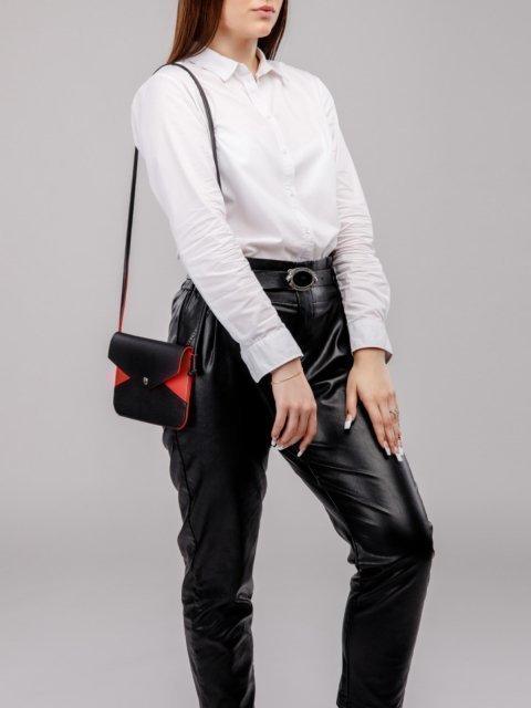 Чёрная сумка планшет S.Lavia (Славия) - артикул: 1132 89 01-04 - ракурс 5