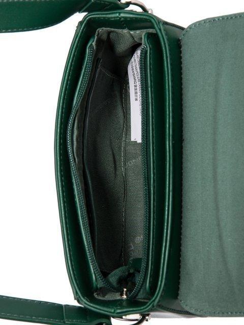 Зелёная сумка планшет David Jones (Дэвид Джонс) - артикул: 0К-00026112 - ракурс 4