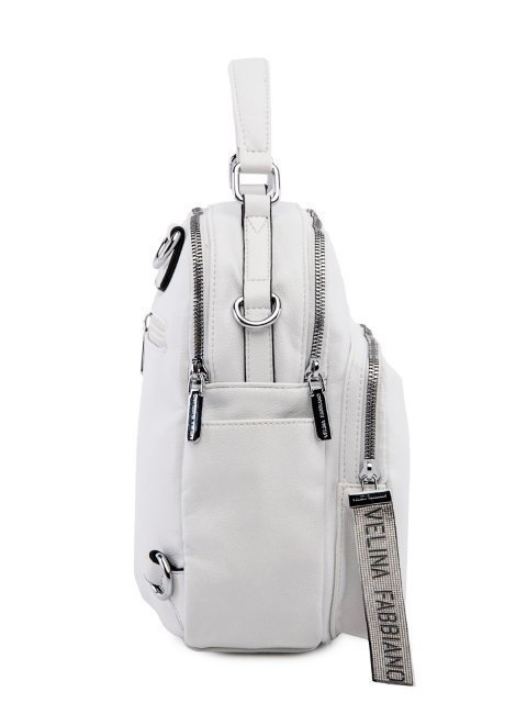 Белый рюкзак Fabbiano (Фаббиано) - артикул: 0К-00023544 - ракурс 2
