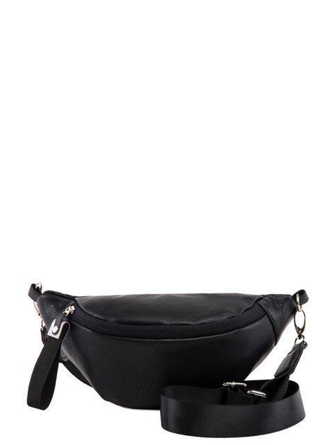 Чёрная сумка на пояс S.Lavia - 1329.00 руб