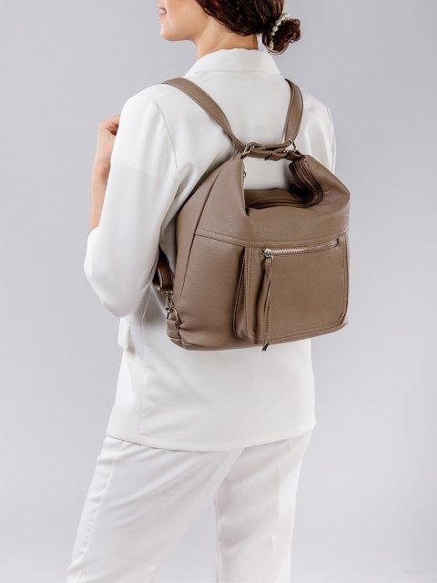 Коричневая сумка мешок S.Lavia (Славия) - артикул: 657 601 12 - ракурс 7