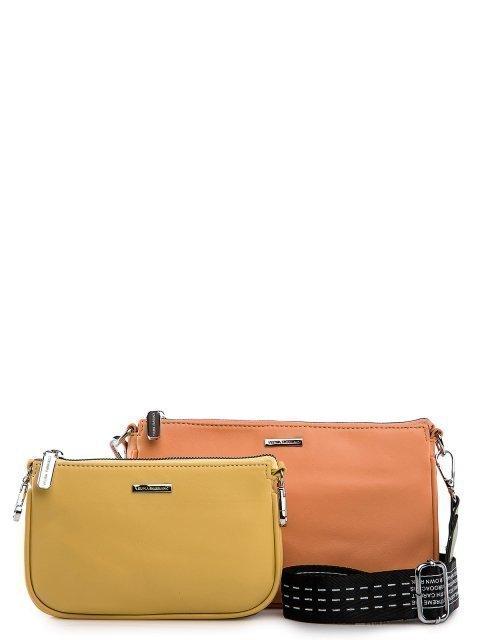 Оранжевая сумка планшет Fabbiano - 3399.00 руб