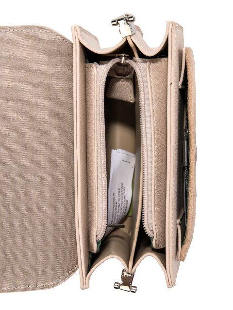 Бежевая сумка планшет David Jones (Дэвид Джонс) - артикул: 0К-00026272 - ракурс 4