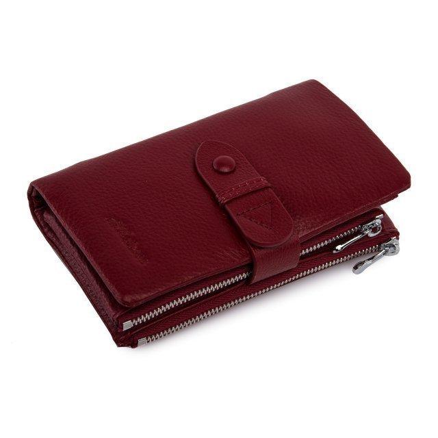 Бордовое портмоне Barez - 2690.00 руб
