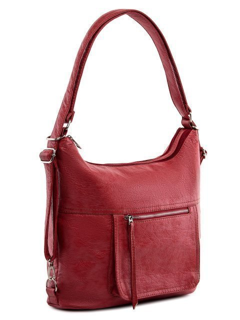 Красная сумка мешок S.Lavia (Славия) - артикул: 657 601 04 - ракурс 1