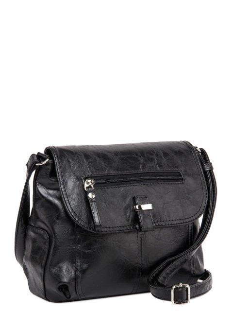 Чёрная сумка планшет S.Lavia (Славия) - артикул: 750 048 01 - ракурс 1