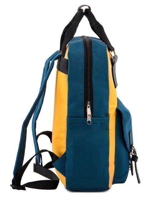 Голубой рюкзак S.Lavia (Славия) - артикул: 00-72 000 72 - ракурс 2