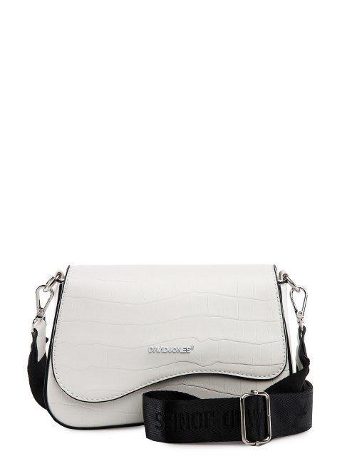 Белая сумка планшет David Jones - 1599.00 руб