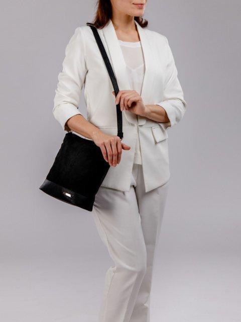 Чёрная сумка планшет S.Lavia (Славия) - артикул: 251 99 01 - ракурс 6