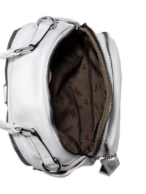 Белый рюкзак Fabbiano (Фаббиано) - артикул: 0К-00023544 - ракурс 4
