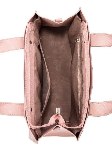 Розовая сумка классическая S.Lavia (Славия) - артикул: 1223 94 42 - ракурс 4