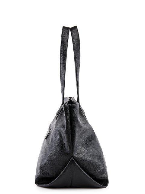 Чёрный шоппер S.Lavia (Славия) - артикул: 1225 902 01 - ракурс 2