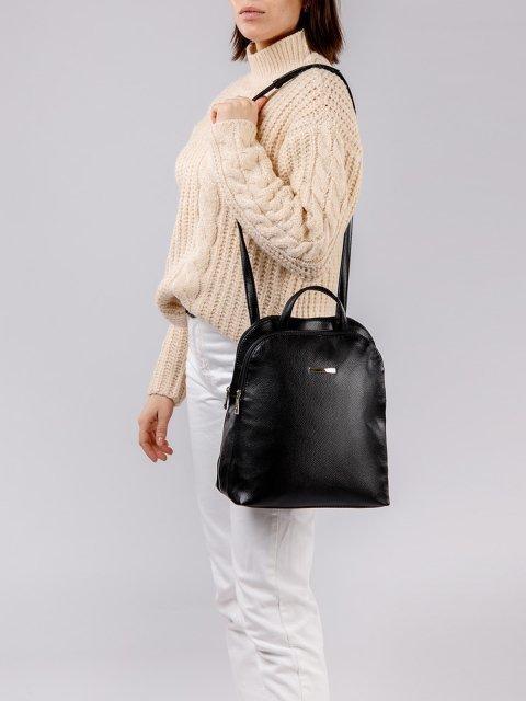 Чёрный рюкзак S.Lavia (Славия) - артикул: 965 598 01 - ракурс 6