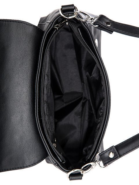 Чёрная сумка планшет S.Lavia (Славия) - артикул: 1244 99 01  - ракурс 4